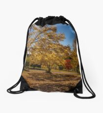 Autumn Sunshine Drawstring Bag