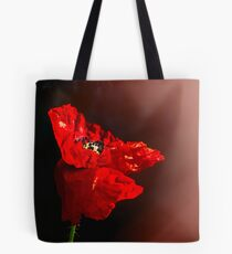 Red poppy 2 Tote Bag