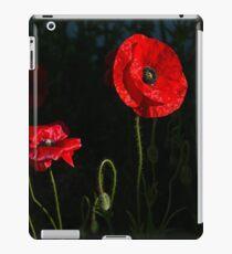 Red poppy 1 iPad Case/Skin