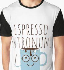 Funny Love Espresso Patronum Magic Coffee  Graphic T-Shirt