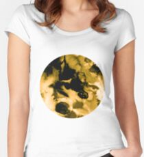 Yellow Eclipse I Women's Fitted Scoop T-Shirt