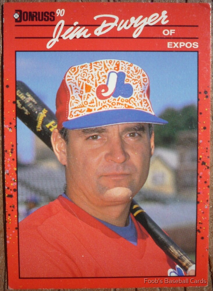186 - Jim Dwyer by Foob's Baseball Cards