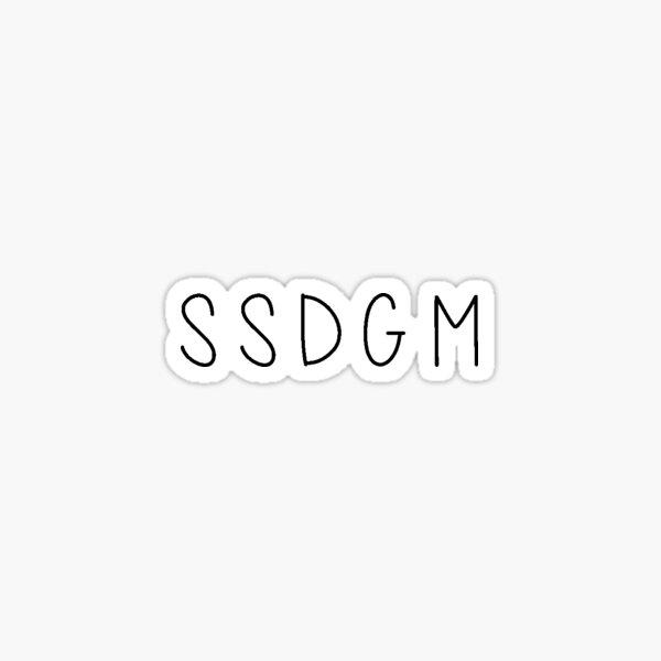 My Favorite Murder Podcast Fan, Stay Sexy Don't Get Murdered, SSDGM, True Crime, Murderino, MFM, Karen Kilgariff, Georgia Hardstark, F*ck Politeness, Serial Killers Sticker