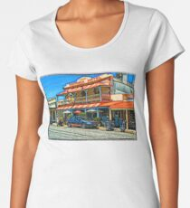 Country pub @ Strathalbyn Women's Premium T-Shirt
