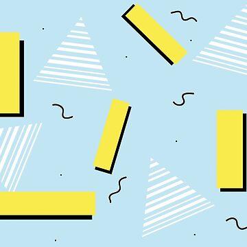 80's geometric pattern by biGcAtsYell