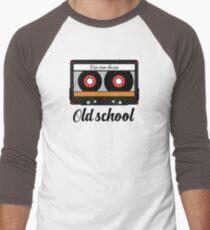 cassette tape retro vintage music Men's Baseball ¾ T-Shirt