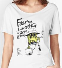 Fear and Loathing in Bikini Bottom Women's Relaxed Fit T-Shirt