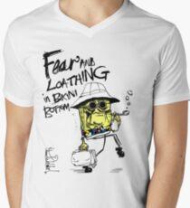Fear and Loathing in Bikini Bottom Men's V-Neck T-Shirt