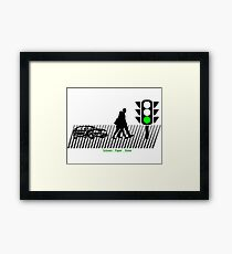 Scissors Paper Stone Framed Print