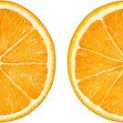 Orange halves by 6hands