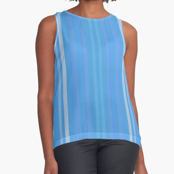 Forget Me Not Blue Sleeveless Top