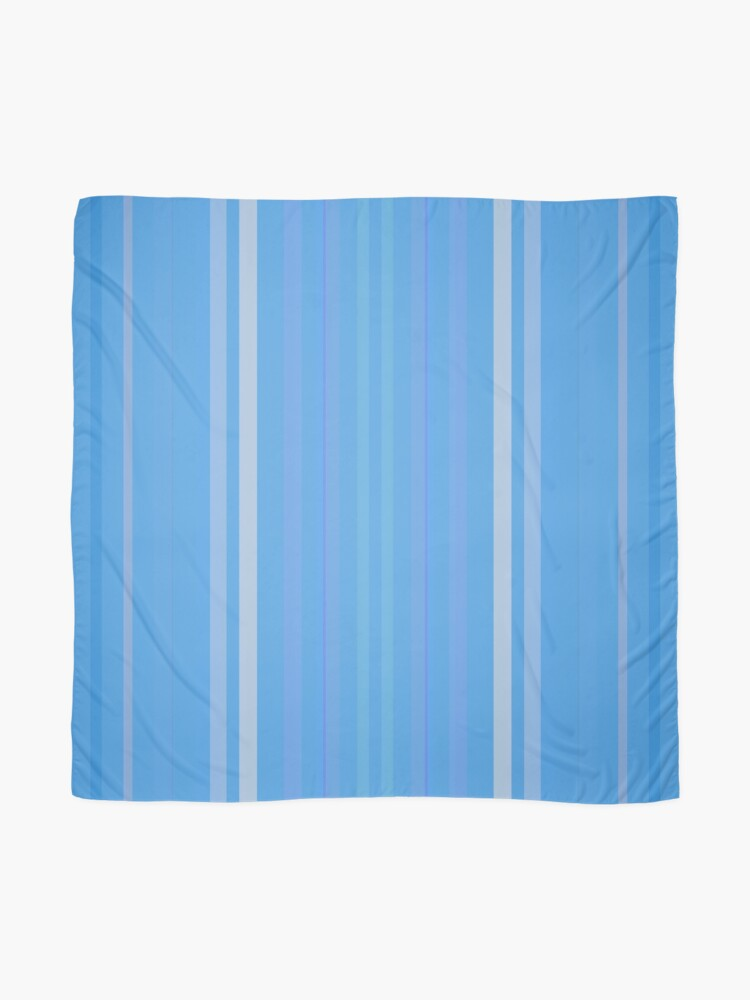 Alternate view of Forget Me Not Blue Scarf