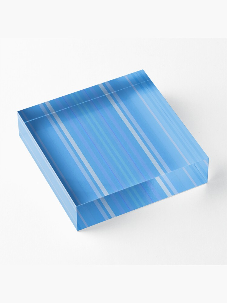 Alternate view of Forget Me Not Blue Acrylic Block