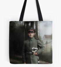 German soldier in Pirna, c. 1916 Tote Bag