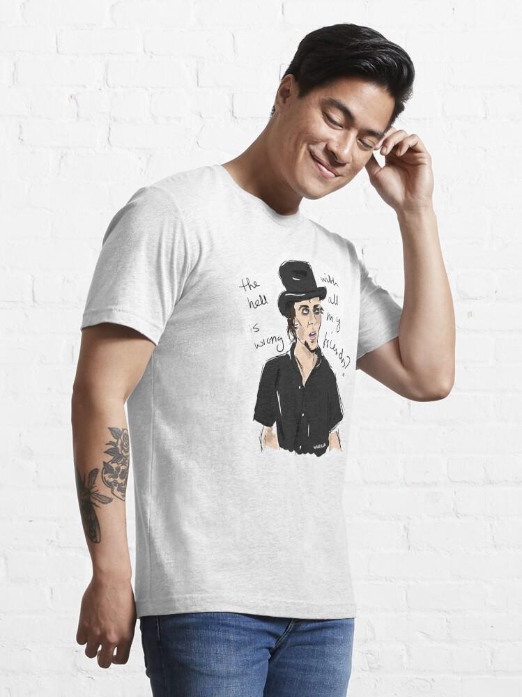 "Alternate view of Bam ""Haggard"" Essential T-Shirt"