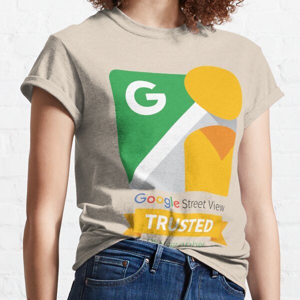 Google Street View Trusted Photographer Icon Classic T-Shirt