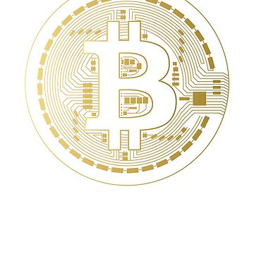 Bitcoin Cryptocurrency  by inkwear