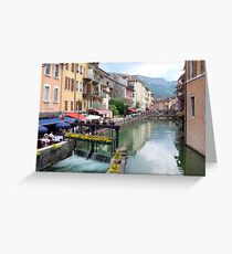 Annecy Greeting Card