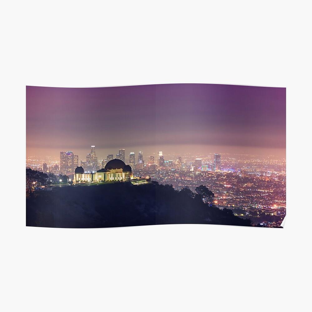 Los Angeles Stadtbild Poster