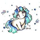 Yomi the Unicorn von MelisArt