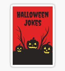Halloween Jokes Ha Ha Ha Sticker