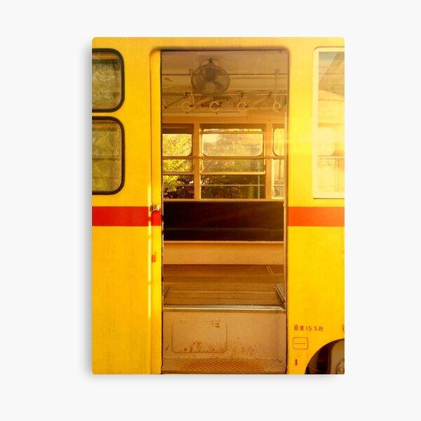 Old Tokyo Bus Canvas Print