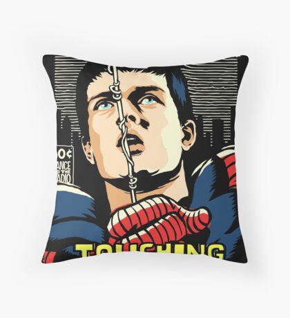 Post-Punk Touch Throw Pillow