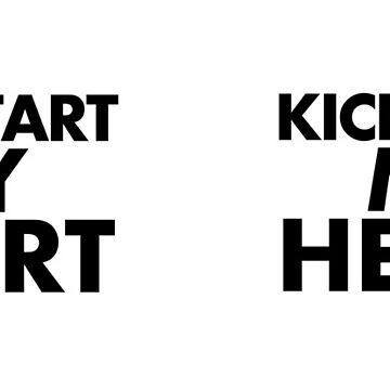 Kickstart My Heart - White by GnomeEnthusiast