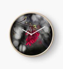 Spring Maple Seeds Clock
