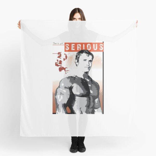 Arnold Schwarzenegger - Time To Get Serious Scarf