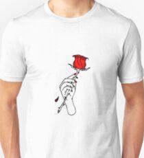 Lil Peep Red Rose Unisex T-Shirt
