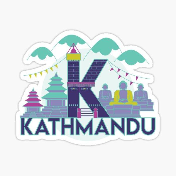 Katmandou, Népal Sticker
