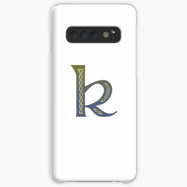Celtic Knotwork Alphabet - Letter K Samsung Galaxy Snap Case