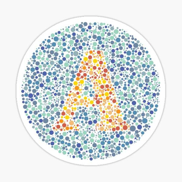 """""""A"""" Eye Test Letter Sticker"""