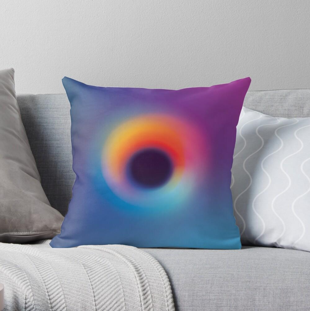 Eternal Night Throw Pillow