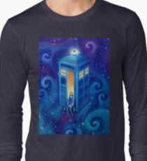 Space Tea Time Long Sleeve T-Shirt