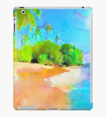 tropical island nr uno iPad Case/Skin