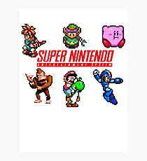 Super Nintendo Photographic Print