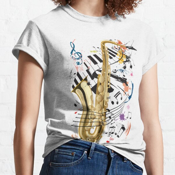 Saxophone and Jazz Classic T-Shirt