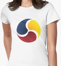 Fulbright Korea Alumni Big Logo Women's Fitted T-Shirt