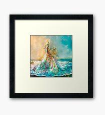 The Shell Maiden Framed Print