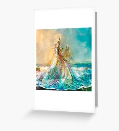 The Shell Maiden Greeting Card