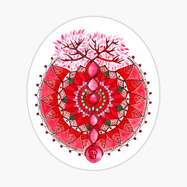 Energy mandala Sticker
