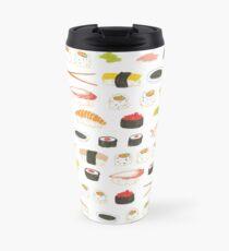 Sweet Sushi Pattern Travel Mug