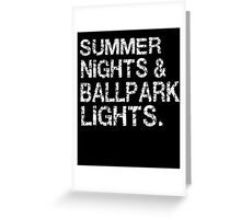 b64336252c2 Summer Nights   Ballpark Lights