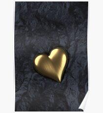 Herz aus Gold Poster