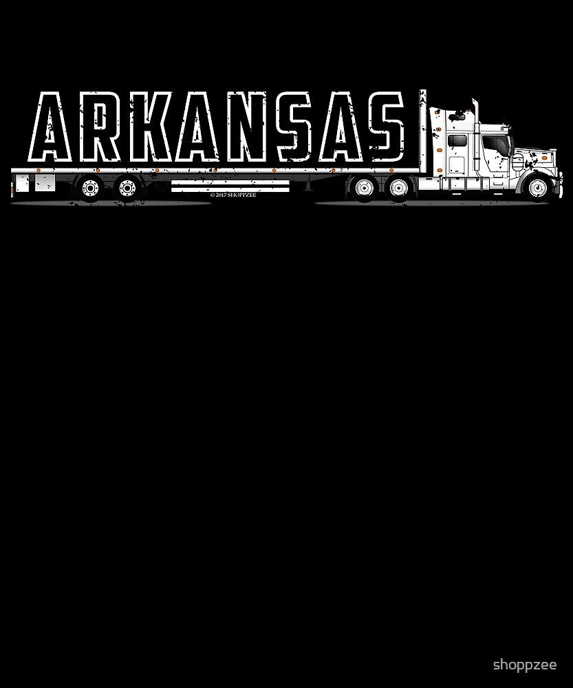 OTR Truck CDL Training Shirt Arkansas CDL Drivers Shirt by shoppzee