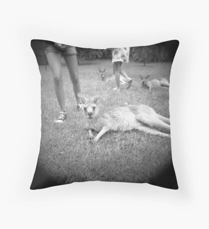 Just chillin... Throw Pillow