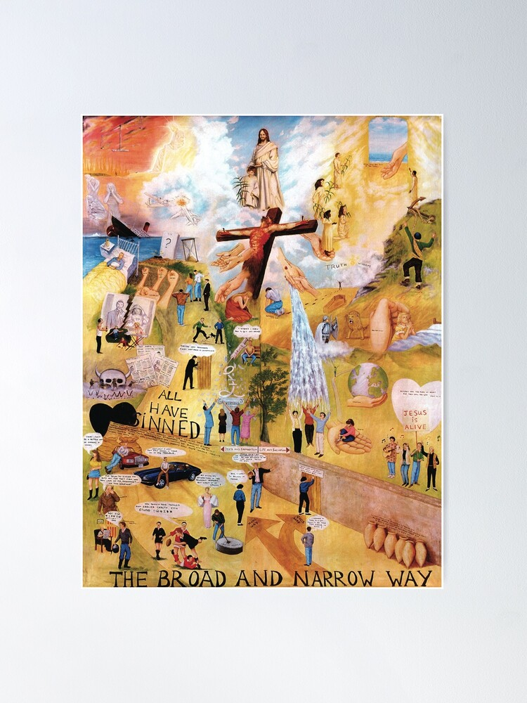 Alternate view of The Broad and Narrow Way Poster
