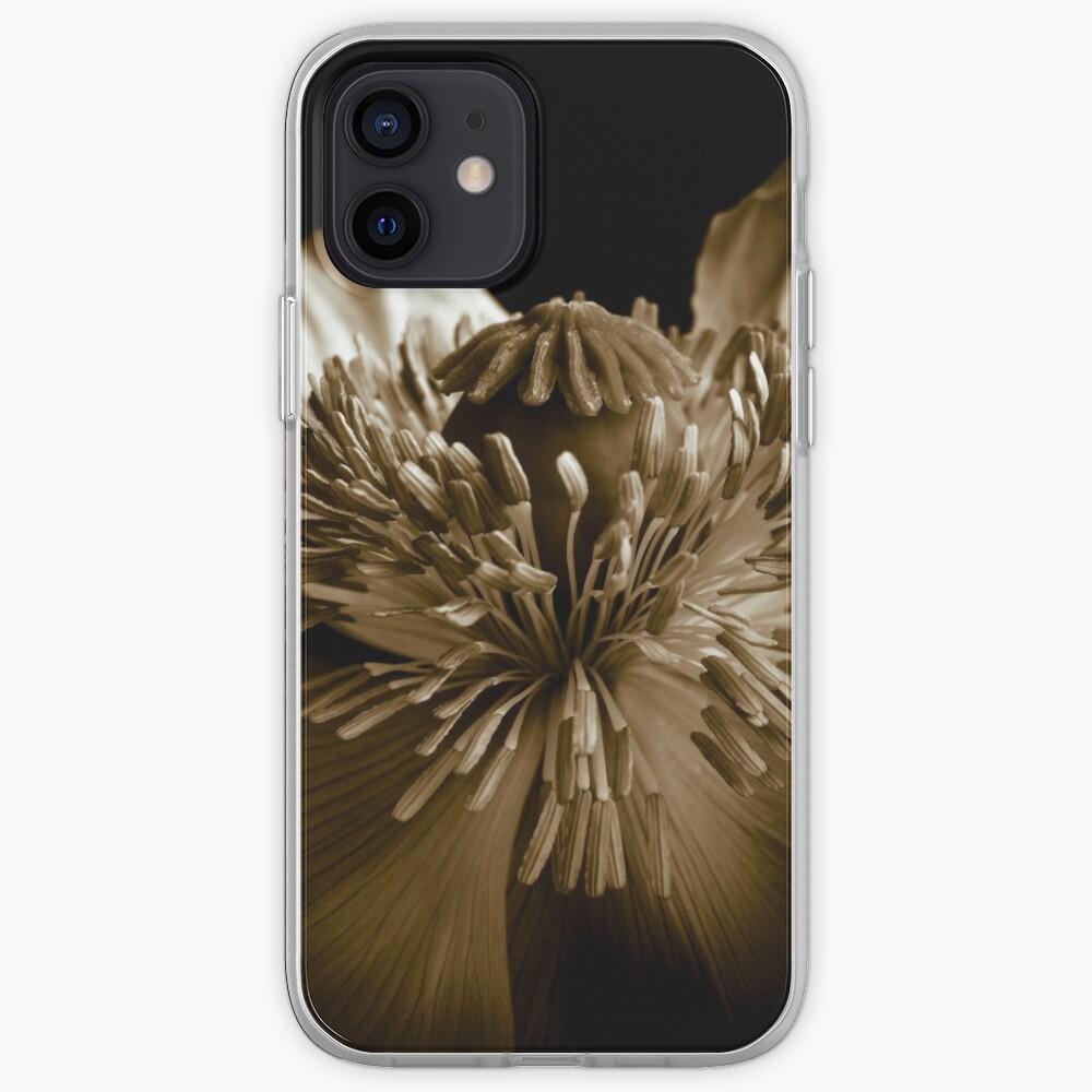 Sepia Poppy iPhone Case & Cover